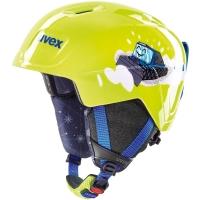 Uvex Manic Kask narciarski snowboard junior lime caterpillar