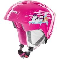 Uvex Manic Kask narciarski snowboard junior pink penguin