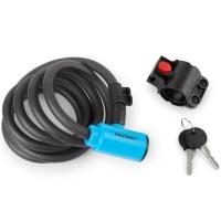Accent Key Lock Zapięcie do roweru linka na kluczyk 12mm x 180cm