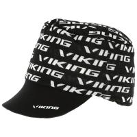 Viking Moko Czapka z daszkiem czarna z białym nadrukiem