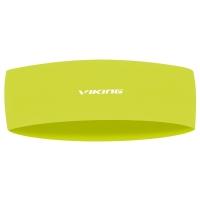 Viking Runway Headband Opaska sportowa neonowo żółta
