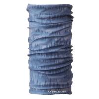 Viking Regular 7766 Komin sportowy unisex szaro niebieski z grafiką
