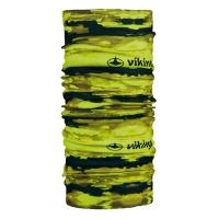 Viking Regular 2525 Komin sportowy unisex żółto czarny