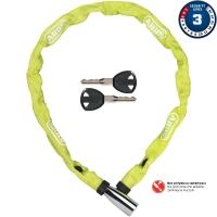 Abus 1500 Web 110cm Zapięcie do roweru łańcuch z zamkiem lime