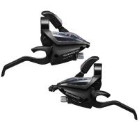 Shimano ST EF500 Altus Klamkomanetki 3x8 rz. czarne