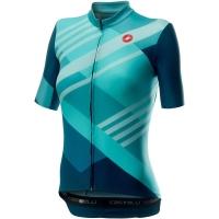 Castelli Talento W Koszulka rowerowa damska multicolor light turquoise 2020