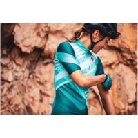 Castelli Talento W Koszulka rowerowa damska multicolor light turquoise