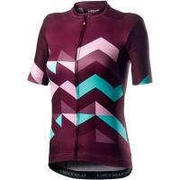Castelli Unlimited W Koszulka rowerowa damska sangria 2020