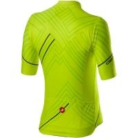 Castelli Passo Koszulka rowerowa żółta fluo 2020
