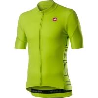 Castelli Entrata V Koszulka rowerowa chartreuse 2020