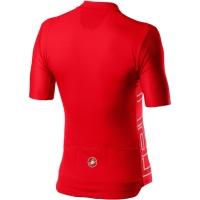 Castelli Entrata V Koszulka rowerowa fiery red 2020