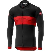 Castelli Prologo VI Bluza rowerowa czarno czerwona 2020