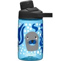 Camelbak Chute Mag Butelka podróżna 400ml błękitna w foki