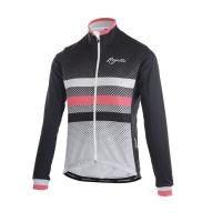 Rogelli DOT Kurtka rowerowa damska czarno różowa