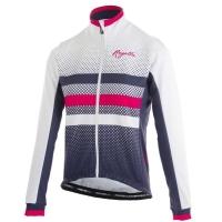 Rogelli DOT Kurtka rowerowa damska niebiesko biało różowa