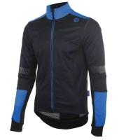 Rogelli Force Kurtka rowerowa czarno niebieska