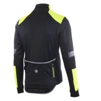 Rogelli Force Kurtka rowerowa czarno żółta