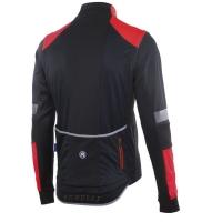 Rogelli Force Kurtka rowerowa czarno czerwona