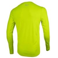 Rogelli Basic Koszulka z długim rękawem żółta