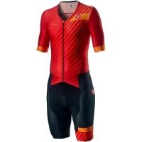 Castelli Free Sanremo 2 Strój triathlonowy fiery red 2020