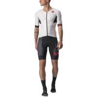 Castelli Free Sanremo 2 Strój triathlonowy biało czarny 2020
