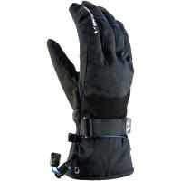 Viking FreeRide Tux Rękawice narciarskie 2w1 czarno niebieskie