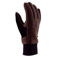Viking Multifunction Halden Best Wool Rękawice zimowe męskie brązowe