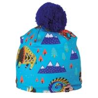 Viking Pixi Czapka zimowa dziecięca niebieska