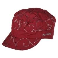 Viking Glamour Czapka z daszkiem damska czerwona