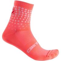 Castelli Puntini W Skarpetki rowerowe damskie brillant pink 2020