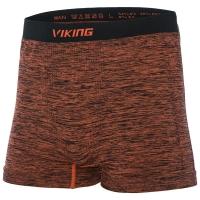 Viking Man Flynn Bielizna termoaktywna bokserki męskie pomarańczowe