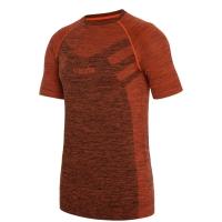 Viking Man Flynn Top Bielizna termoaktywna koszulka męska pomarańczowa
