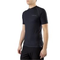 Viking Man Linus Top Bielizna termoaktywna koszulka męska czarna