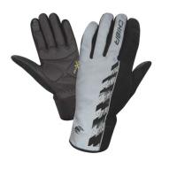 Chiba Pro Safety Rękawiczki ocieplane odblaskowe szare
