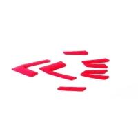 Uvex Race 5 Komplet wyściółek do kasku rowerowego red carbon