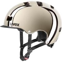 Uvex hlmt 5 Bike Pro Kask rowerowy miejski gold chrome