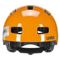 Uvex HLMT 4 Kask dziecięcy orange tape