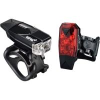 Infini Mini Lava Zestaw lampek rowerowych przednia i tylna