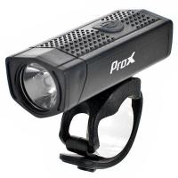 ProX Aero F PLUS Lampka rowerowa przednia LED 400 Lm aku USB