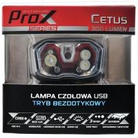 ProX Cetus Latarka czołowa CREE 300 Lm 1800 mAh