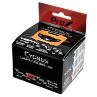 ProX Cygnus Latarka czołowa czarna