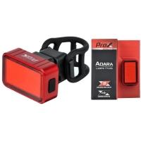 ProX Adara Lampka rowerowa tylna COB LED 30 Lm aku USB