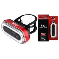 ProX Iris Lampka rowerowa tylna COB LED 50 Lm aku USB