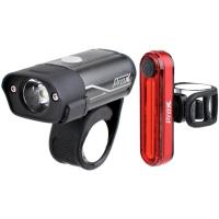 ProX Hydra SET Zestaw lampek rowerowych CREE 400 Lm aku USB