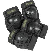 Madd Gear Zestaw ochraniaczy Junior czarne M
