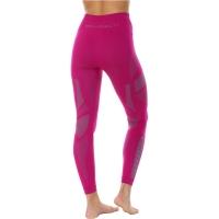 Brubeck Dry Spodnie termoaktywne damskie fuksja szare
