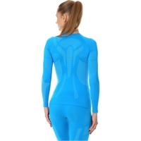 Brubeck Dry Bluza termoaktywna damska niebieska