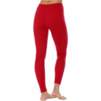 Brubeck Extreme Wool Spodnie damskie długa nogawka malinowe
