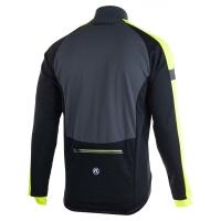 Rogelli Extreme Bluza rowerowa czarno szaro żółta