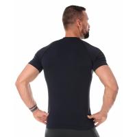 Brubeck Running Air Pro Koszulka męska krótki rękaw czarna